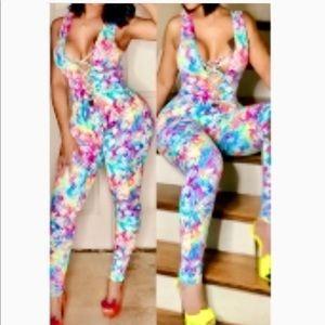 Multi-colored Jumpsuit